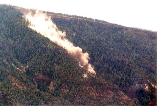 Missionary Ridge landslide