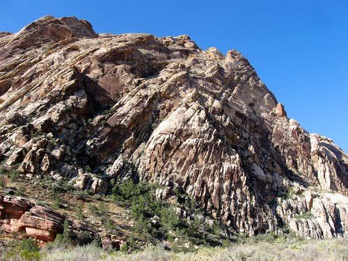 North Face of Sandstone Peak