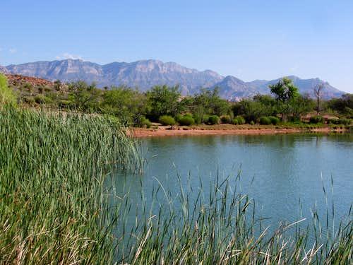 La Madre Mountain & Lake Harriet