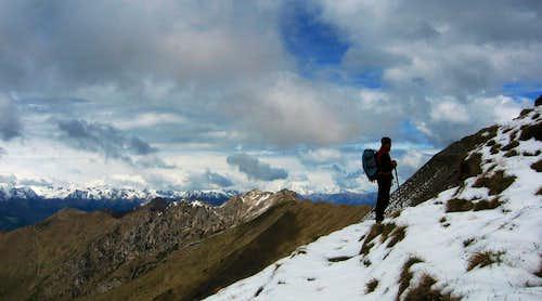 Gavardina-Dosso della Torta ridge from Corni di Pichea