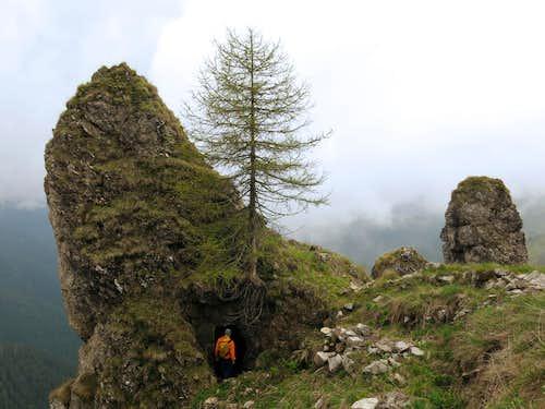 Austrian WWI remains near Bocca dell'Ussol