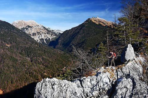 On the W-NW ridge of Smokuski vrh