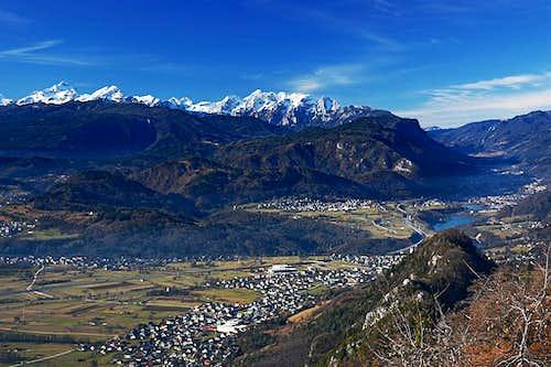 The view from Smokuski vrh