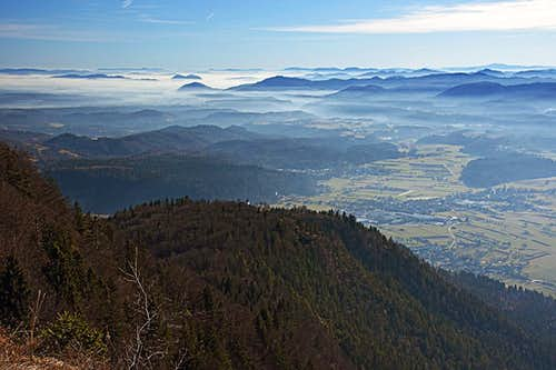 Smokuski vrh S-SE views