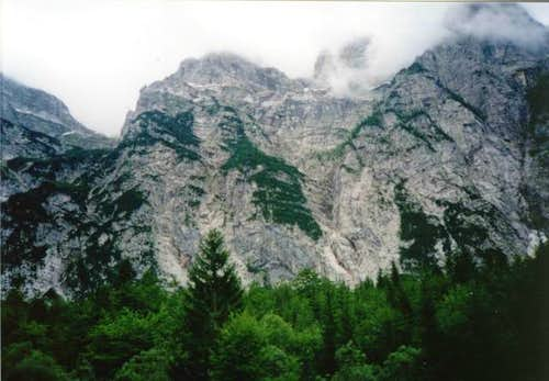 Zadnjica valley. 12.7.2001