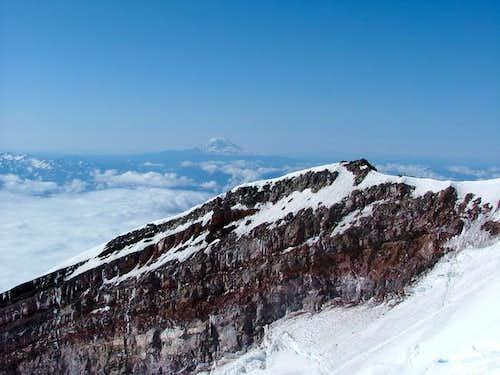 Mt Adams as seen over...