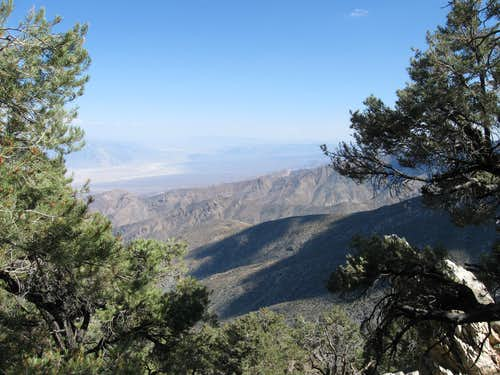 Looking Over the Southern End of Death Valley