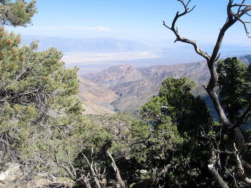 North Fork Hanaupah Canyon & Death Valley