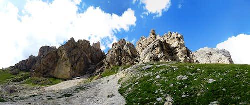 Piccolo Cir and Gran Cir panorama