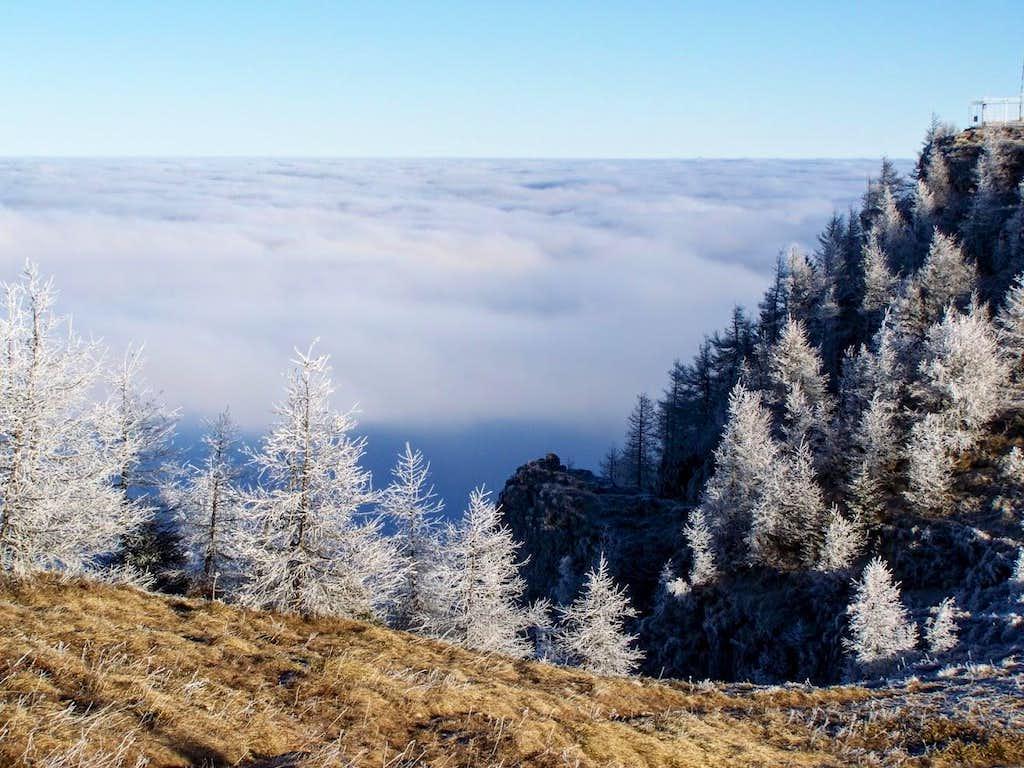 View from the peak of Urslja gora