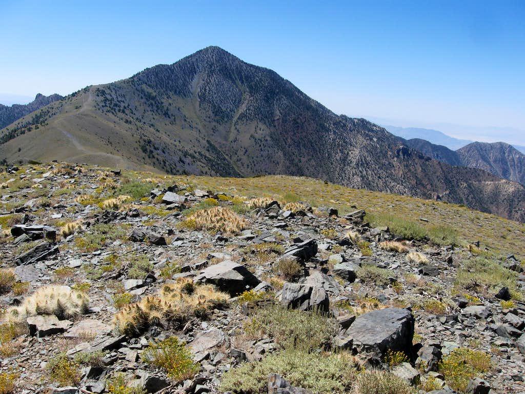 Telescope Peak From the Summit of Bennett Peak