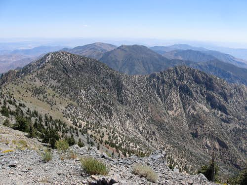 Looking South From the Summit of Telescope Peak