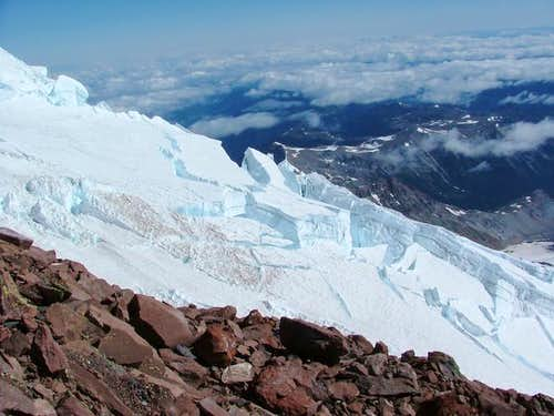 Emmons glacier as seen from...