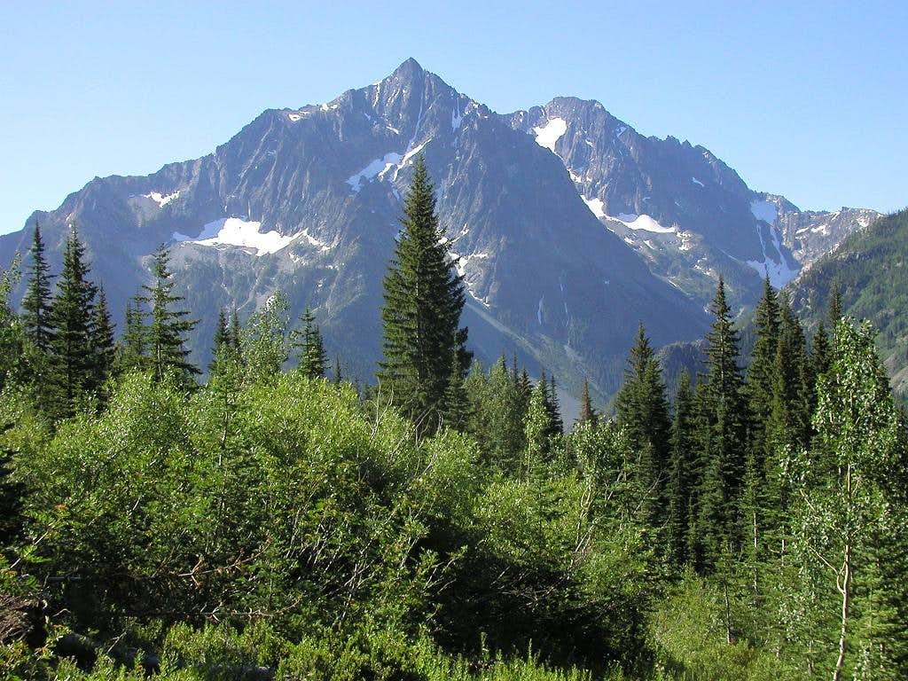 Copper Peak from the Holden Lake Trail