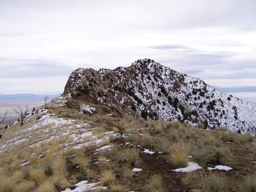 Frary Peak, March 9, 2003