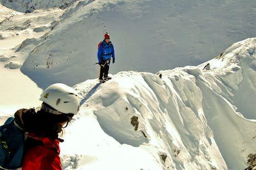 Vaiuga peak NW ridge 2443m