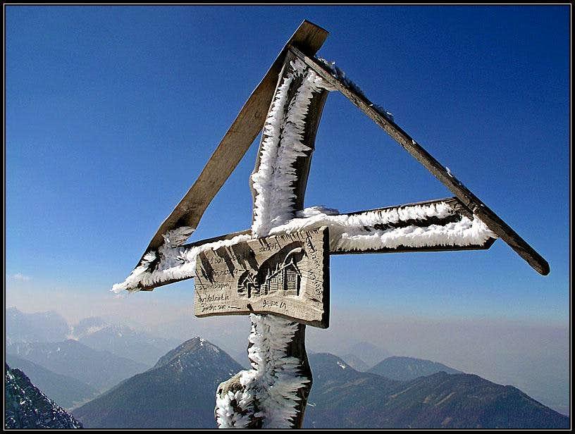 The summit cross on Obir