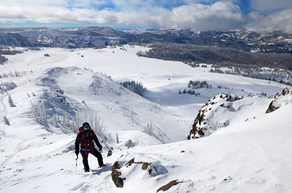 Brian Head Peak - January 2017 image 3
