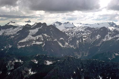Clark Mountain from Seven Fingered Jack