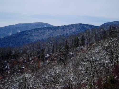 Clingman\'s Dome on 3/18/2005....
