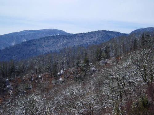 Clingman's Dome on 3/18/2005....