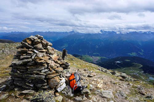 Planskopf summit with Fiss and Serfaus