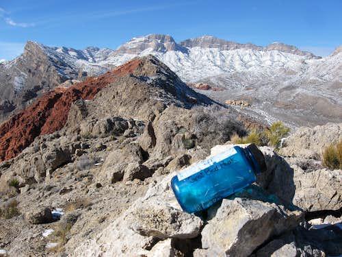 Summit Register on Goat Bed Peak
