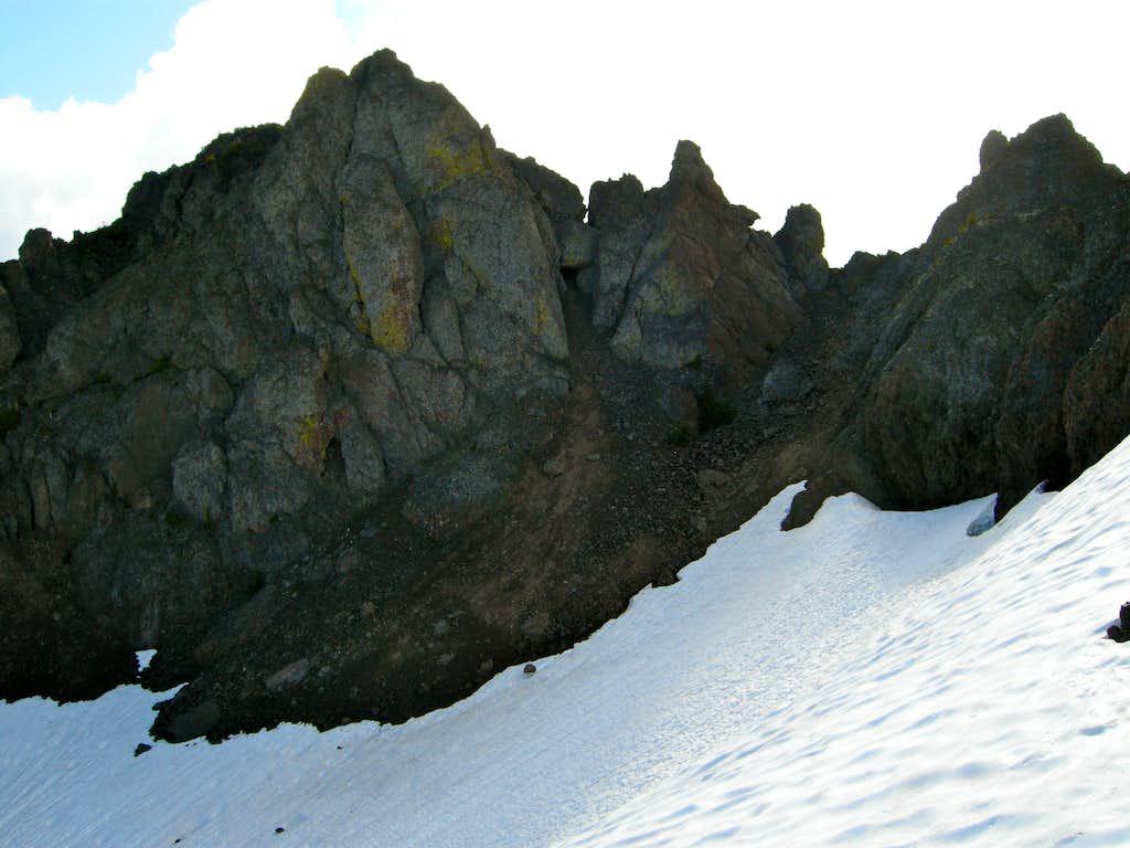 Upper Snowfield on Boulder Ridge