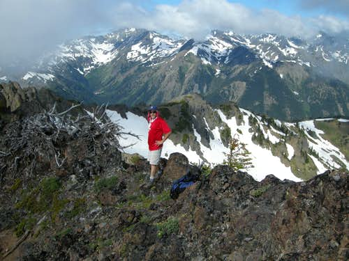Summit of Boulder Ridge