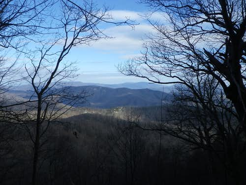 View from Hazel Mountain
