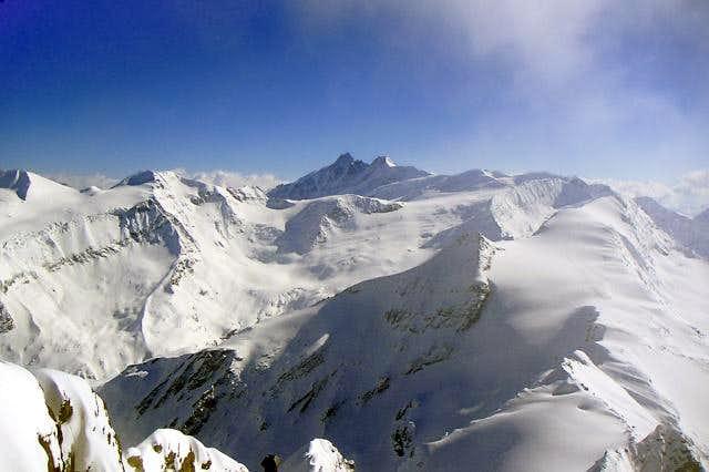 From summit of Kitzsteinhorn...