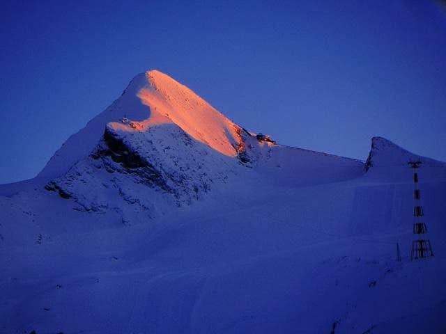 Sunset from Krefelder Hut, a...