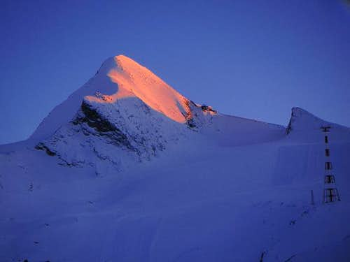Sunset from Krefelder Hut, a...