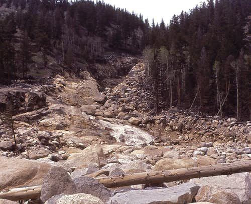 Roaring River after the flood