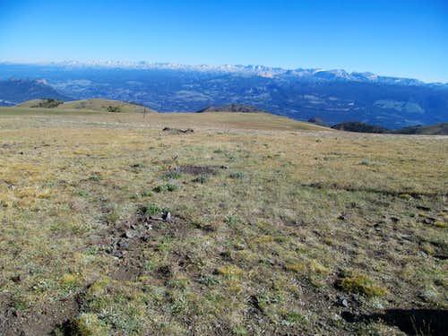 Beartooth Range from Windy