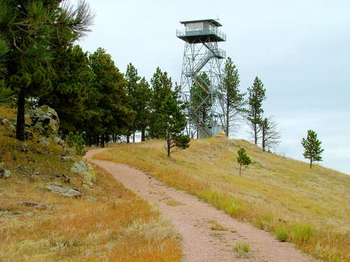 South Trail to Firetower
