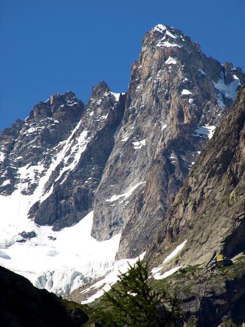 ... Mont Rouges de Triolet from Aiguille de Triolet 2016