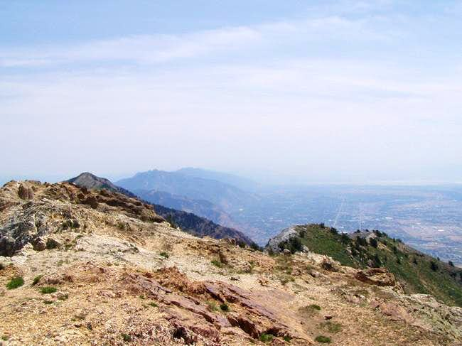Left to right- Willard Peak,...