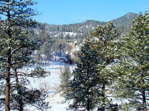 Winter at Wind Cave National Park