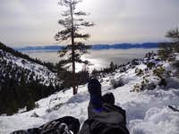 Best Seat in the House ~ Lake Tahoe