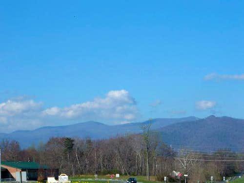 Pinnacle Peak is the mountain...