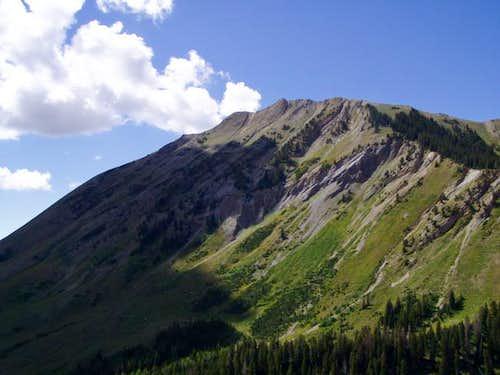 North Peak just North of...