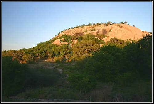 Backside of Enchanted Rock...
