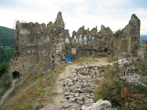 Šášov Castle Hill