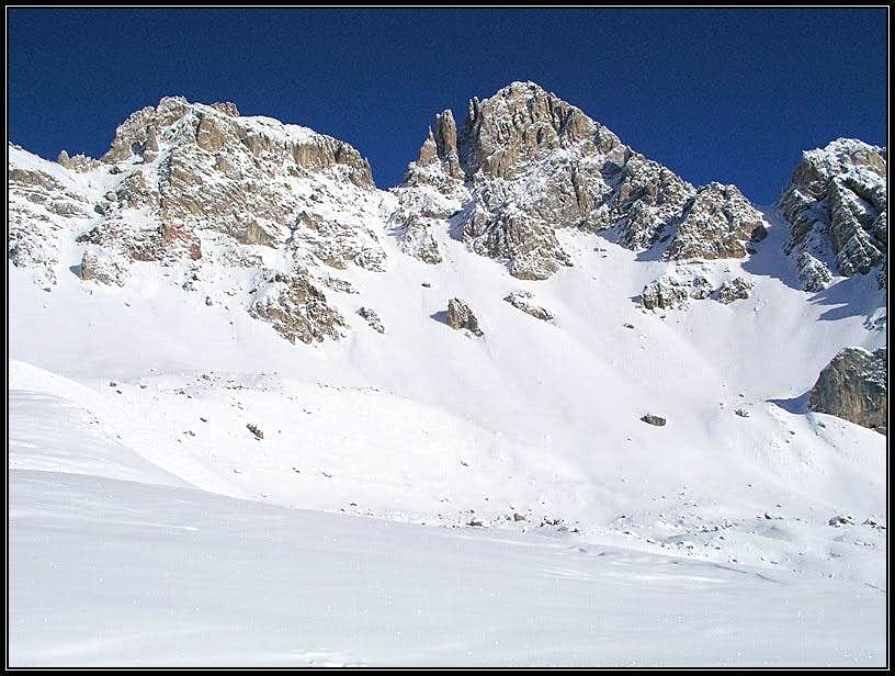 Cima d'Uomo from the SW