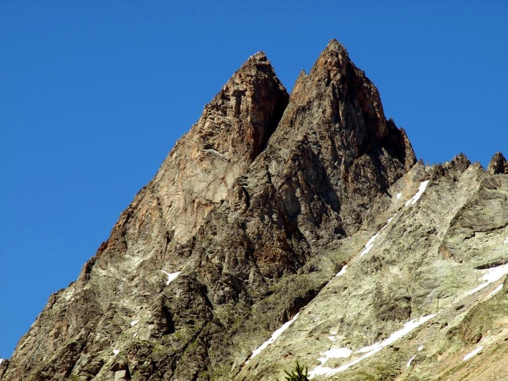 Monts Rouges de Triolet above Ferret's Valley 2016