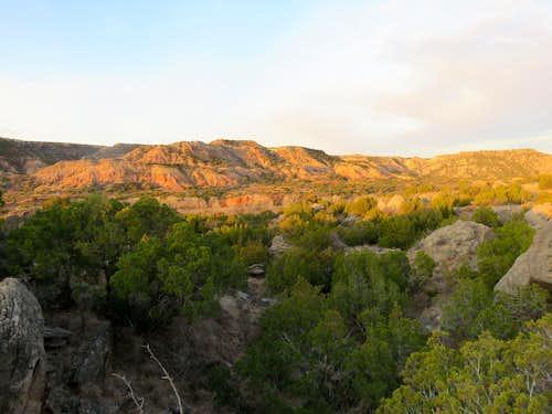 From lower Rock Garden Trail