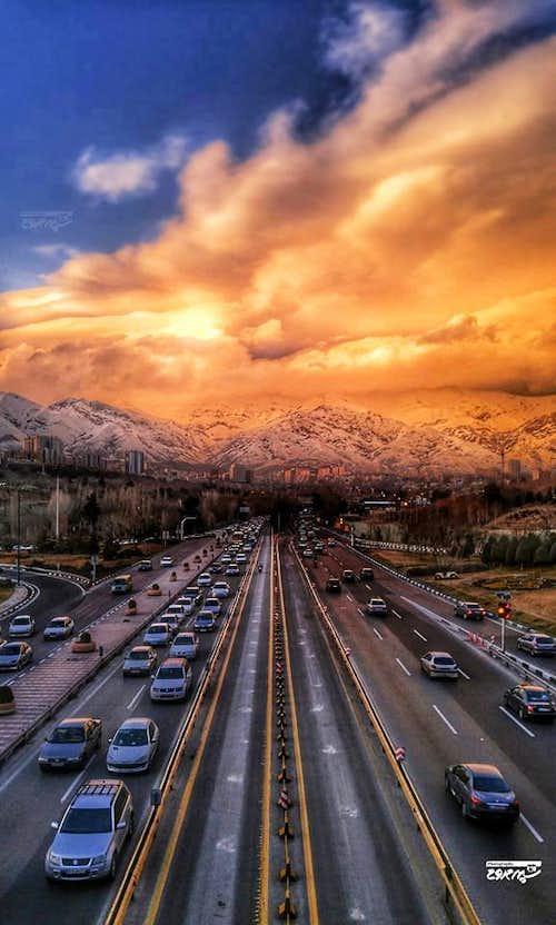 Tehran & Mt. Tochal