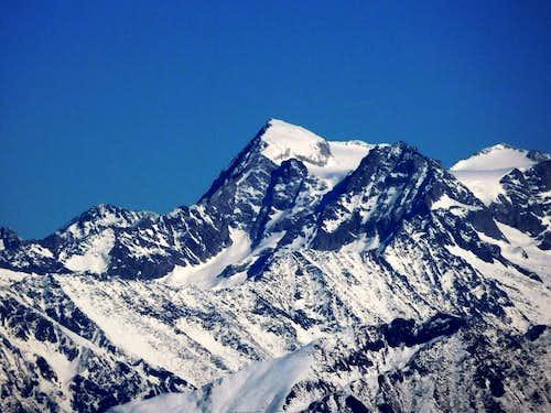 Adamello close-up from Monte Guglielmo