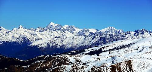 Adamello range from Monte Guglielmo